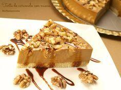 Tarta de caramelo con nueces - MisThermorecetas
