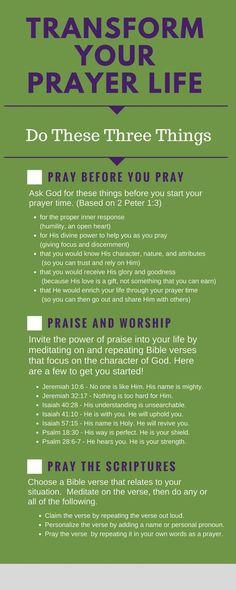 Three Powerful Strategies to Transform Your Prayer Life