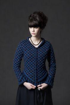 Katherine Howard pattern from Virtual Yarns - not free-