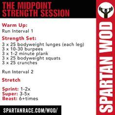 Spartan Race Workout of the Day Spartan Sprint, Spartan Race Training, Spartan Workout, Training Plan, Crossfit Wods, Spartan Life, Spartan Warrior, Training Workouts, Sprinting Workouts