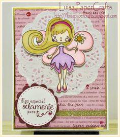 Luisa PaperCrafts. Tarjeta Especial para ti. #cardmaking