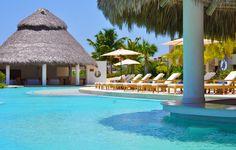 The pool @ Golden Bear Lodge, Cap Cana. Dominican Republic.