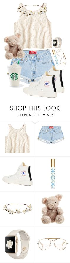 """""""Cream color with my vanilla cream frappuccino Starbucks!😋"""" by maris3456 ❤ liked on Polyvore featuring Comme des Garçons, Tory Burch, Cult Gaia, Jellycat, CÉLINE, Summer, converse, cream, teddybear and chill"""