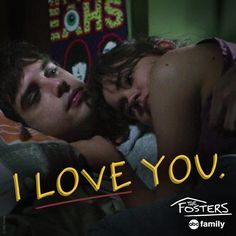 "S3 Ep10 ""Lucky"" - #Brallie in love. ❤️‍ #TheFosters"