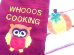 Kitchen towels www.facebook.com/bigheadsuniqieboutique #handmade