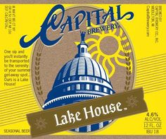 Capital Lake House Beer Newly Added Items at Leo's Wines and Spirits | Woodridge, IL