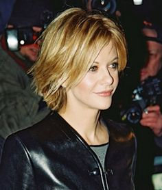 Meg ryan - beauty riot, Meg ryan's short hair looks so pretty in a wavy bob. Description from hotgirlhdwallpaper.com. I searched for this on bing.com/images