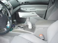 Turn Your Car's Cup Holder Into a Laptop Stand Laptop