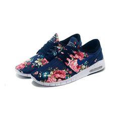 Women's Nike Stefan Janoski Max Blue Rose