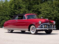 1951 Hudson Pacemaker Custom Convertible Brougham....Outragious....
