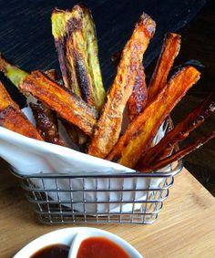 Super quick & crispy veggie shards = chunky chips ! - Opti Cook