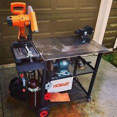 Welding table diy, welding ideas, types of welding, welding bench, welding Welding Shop, Diy Welding, Metal Welding, Mobile Welding, Welding Design, Metal Projects, Welding Projects, Welding Ideas, Diy Projects