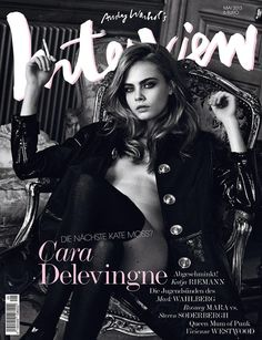 Cara Delevingne- Interview Magazine