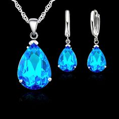 http://www.ebay.co.uk/itm/Teardrop-Silver-Plated-Cyan-Blue-Cubic-Zirconia-Necklace-Earrings-Set-/322278040682