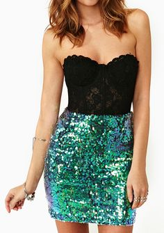 Mermaid skirt, one day I'll be thin enough for this Dang it!