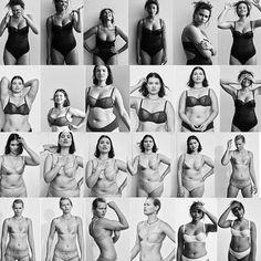 Bravo Vogue, for publishing photos of gorgeous big girls in undies.