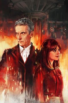 Just saw the first episode and I already love capaldi!! Almost cried when smith called Coleman... ;(