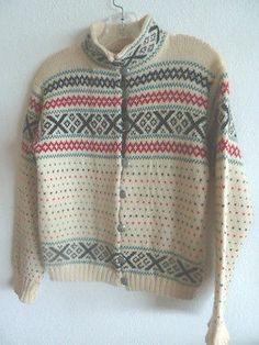Scandinavian sweater - colorways