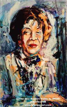Shirley Horn , jazz singer and pianist © by  Sablan Bruni