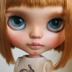 Brownie, blythe doll by tiina