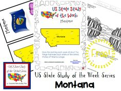 Come see Week 28 of the FREE US State Study of the Week Weekly Series and get your Montana themed Pack.