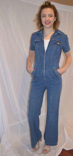 d4d7c771d87f 156 Best Vintage Denim Jumpsuit images