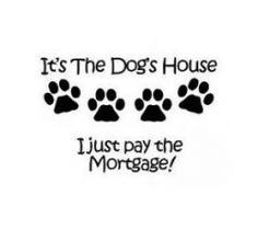 Dog Quotes vinyl decal ~ email me at customizeddecals@gmail.com for orders. No…