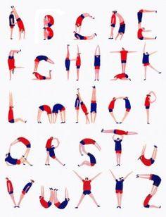 插畫家 Charlotte Trounce 的作品呼喚著你起來扭扭屁股囉~!這可是從2012年奧林匹克裡面找來的靈感!