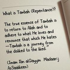 Tawbah (Repentence)