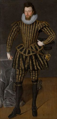 Retrato de Sir John Scott. Anónimo, 1603. Museo de Arte de Carolina del Norte, Raleigh. Carolina del Norte, Estados Unidos.