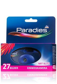 Paradies Einwegkamera ISO 400 27 Bilder