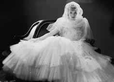 Wedding dress style/fashion.