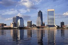 Jacksonville's skyline - one of the best images I've seen taken of it yet!
