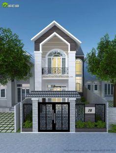 T-O-P-1 Bản vẽ thiết kế nhà phố 2 tầng đẹp mộc mạc hình ảnh số 1