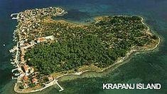 Krapanj is the smallest inhabited island in Croatia as well as the smallest one in the whole Adriatic. Croatian Islands, Dalmatia Croatia, Sea Diving, Sea Sponge, Thousand Islands, Adriatic Sea, Central Europe, Deep Sea, Shallow