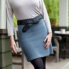 Simple Straight Skirt Pattern