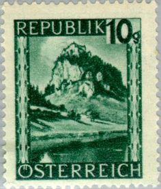Znaczek: Hochosterwitz (Carinthia) (Austria) (Landscapes) Mi:AT 745,Sn:AT 460,Yt:AT 607,Sg:AT 930,ANK:AT 745