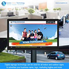 #Digitalsignage technology can be used for all #indoor and #outdoor signs to #advertise your #business name, logo, #marketing tagline and more. #‎TucanaGlobalTechnology‬ ‪#‎Manufacturer‬ #HongKong