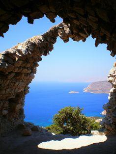 View from the Castle of Monolithos, Rhodes, Greece ✯ ωнιмѕу ѕαη∂у
