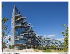 VM Houses, Copenhagen, Denmark. Architect: PLOT = BIG (Bjarke Ingels Group) + JDS. Built: 2005. Photo: Quintin Lake