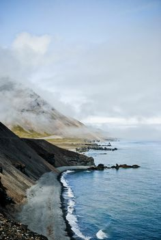 Road to Hofn, Iceland