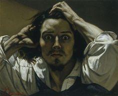 Gustave Courbet, Self Portrait (The Desperate Man), c. 1843.