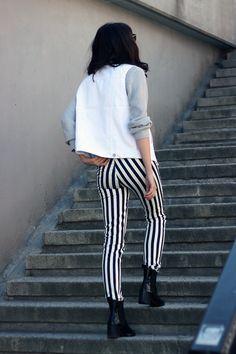WST Stripe Pants on Fashion Worries