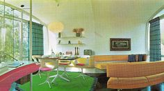Monsanto House of the Future Living Room   Flickr