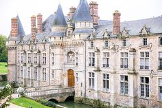 Brides: Ashlan Gorse's Fairytale Wedding at a French Chateau
