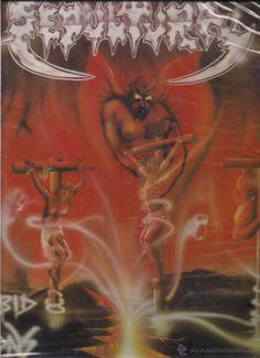 SEPULTURA. MORBID VISIONS.  R/C RECORDS  COGUMELO 1985/1986