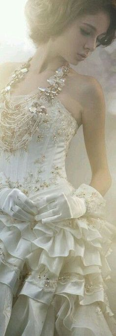 Wedding Dress Styles, Wedding Gowns, Fairytale Fashion, Queen, Dream Dress, Girly Girl, Beautiful Dresses, Beautiful Women, White Lace