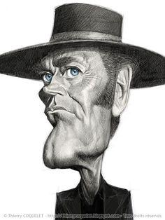 Henry Fonda caricatures | Henry Fonda