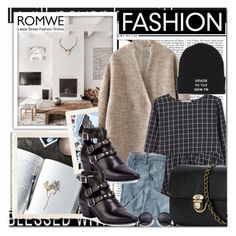 """Romwe 9"" by emina-turic ❤ liked on Polyvore featuring Nicki Minaj, MANGO, Wrap, Yves Saint Laurent, Vans, women's clothing, women's fashion, women, female and woman"