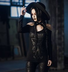 Dark Beauty, Gothic Beauty, Darya Goncharova, Gothic Pictures, Dark Gothic, Cyber, Style, Fashion Models, Punk